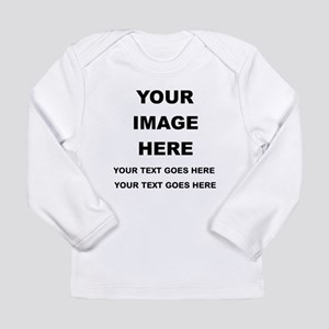 Your Photo and Text Here T Shirt Long Sleeve T-Shi